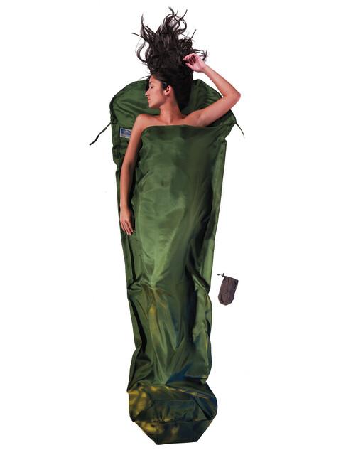 Cocoon - Drap sac de couchage en soie - vert